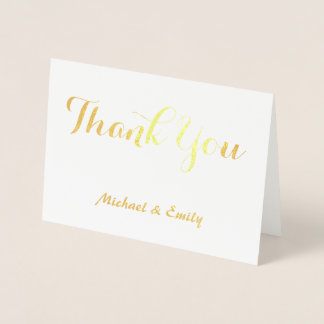 Carte de remerciements personnalisé