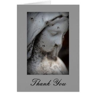 Carte de remerciements religieux de sympathie
