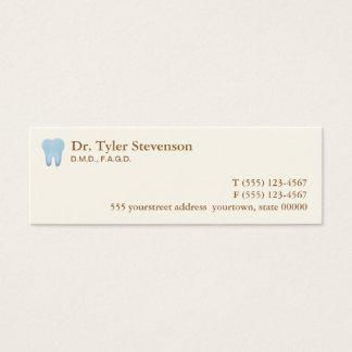 Carte de rendez-vous de dentiste