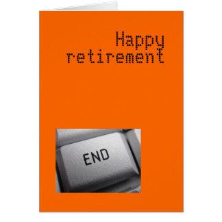 Carte de retraite