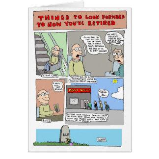 Carte de retraite par Sam Backhouse