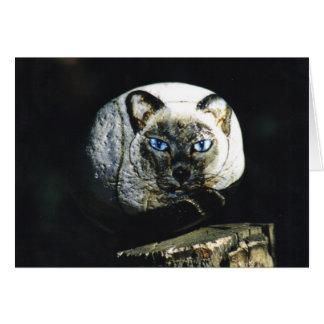 "Carte de roche de chat de ""Sheffield"""