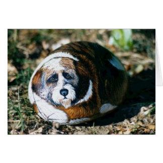 """Carte de roche de chien de """"Khyi"""""""