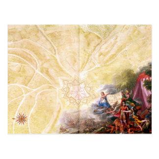 Carte de Rocroi, de 'Atlas de Louis XIV'
