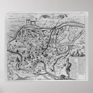 Carte de Rome antique
