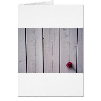 Carte de salutation fleur de grain