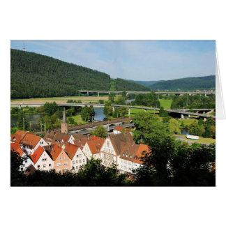 Carte de salutation Gemünden A. Main