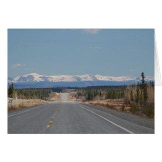 Carte de salutation Highway au Canada