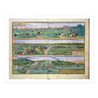 Carte de Séville, de Cadix, et de Malaga, de