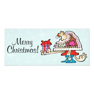 Carte de signature idiote de Père Noël