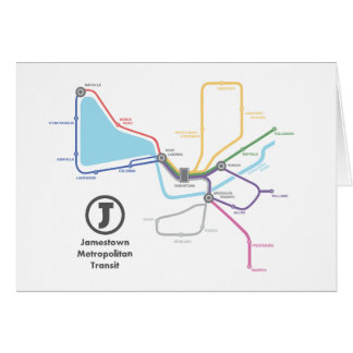 Carte de souterrain de Jamestown