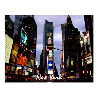 Carte de souvenir de New York de carte postale de