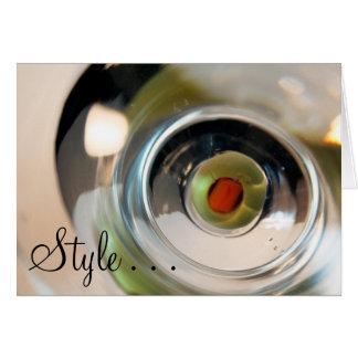 Carte de style…