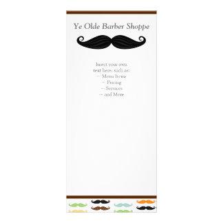 Carte de support de moustache double carte