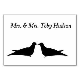 Carte de Tableau de deux oiseaux