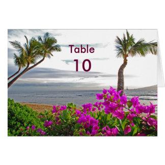 Carte de Tableau de plage de Maui