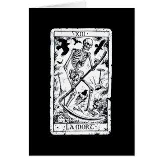 Carte de tarot de Mort de La