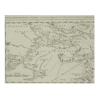 Carte de Tartaria en Chine