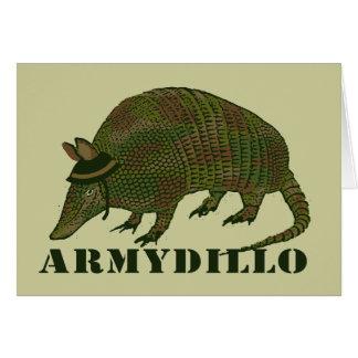 Carte de tatou d'armée