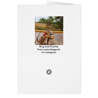 Carte de terril et de chèvre