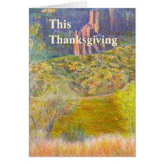 Carte de thanksgiving de client d'affaires