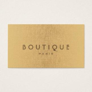 Carte de toile d'or d'accessoires de Boutique-Mode
