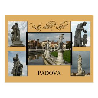 Carte de touristes de Padoue - della Valle de