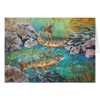 Carte de truite