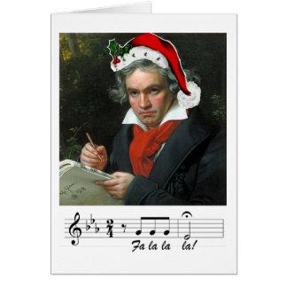Carte de vacances de Beethoven