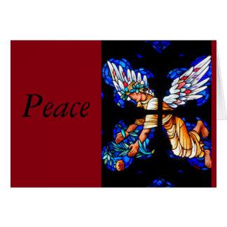 Carte de vacances de paix