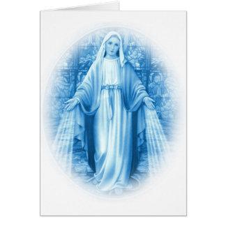 Carte de Vierge Marie