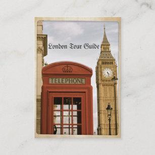 Carte De Visite Cabine Tlphonique Et Tour Big Ben