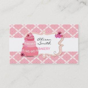 Carte De Visite Cakes Bakery Business Cards