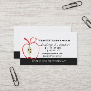Carte De Visite Car Apple Perte Poids Fruit Dessin Au