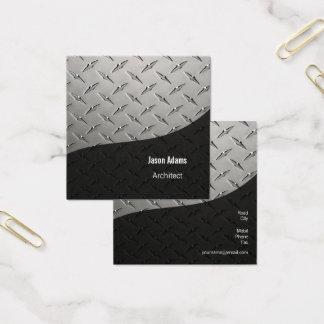 Carte De Visite Carré Architecte | moderne