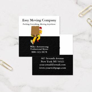 Carte De Visite Carré Boîte de moteur d'entreprise de déménagement