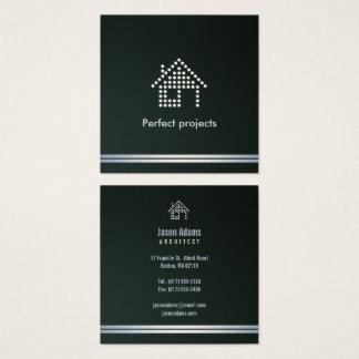 Carte De Visite Carré Projets parfaits de l'architecte |