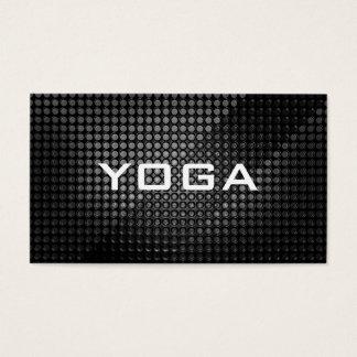 Carte de visite chic d'instructeur de YOGA