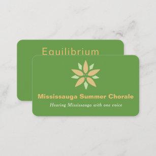 Carte De Visite Choral Concert