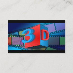 Carte De Visite Cinma 3D