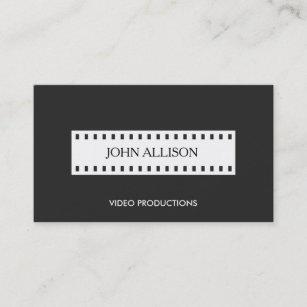 Carte De Visite Cinema Cinematrographer Filmstrip