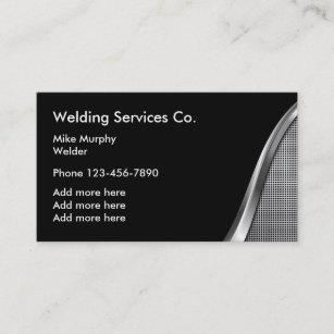 Carte De Visite Construction Moderne Businesscards Soudure