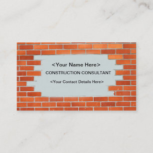 Cartes De Visite Consultant Personnalises