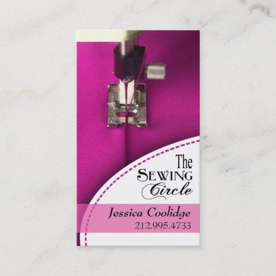Carte De Visite Couture Couturiere Tailleur Concepteur