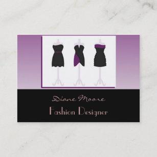 Carte De Visite Couturier Mannequins