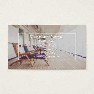 Carte de visite d'agent de voyage