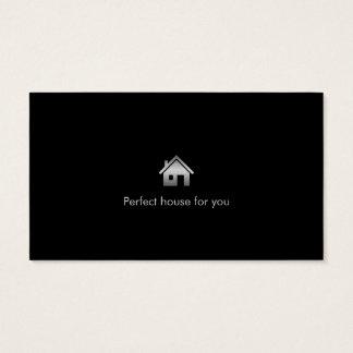 Carte de visite d'agent immobilier