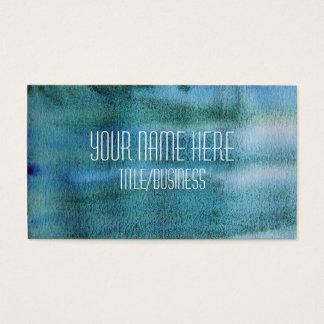 Carte de visite d'aquarelle