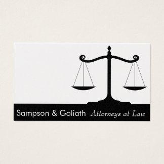Carte de visite d'avocats