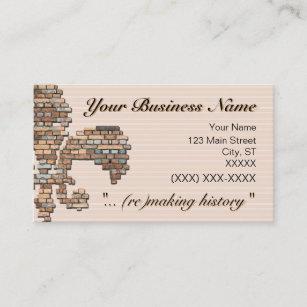 Carte De Visite Brick Fleur